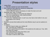 presentation styles slide