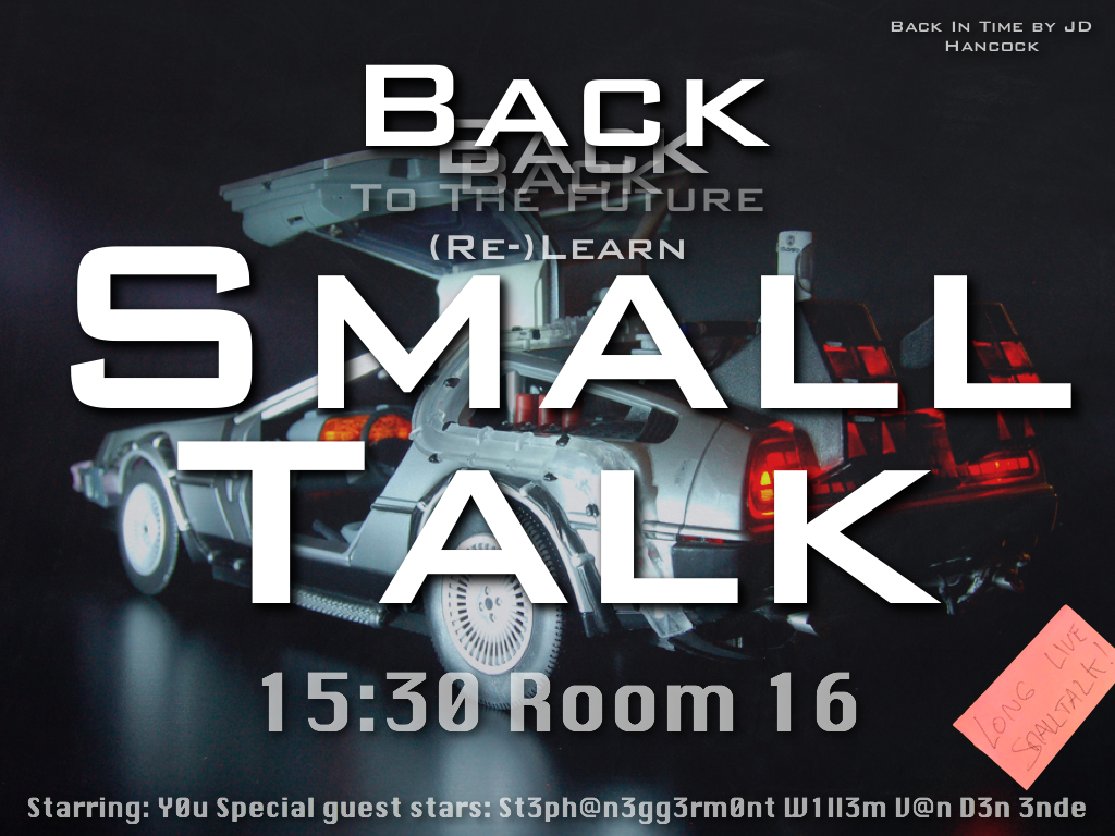 Back to the future, Re-Learn Smalltalk