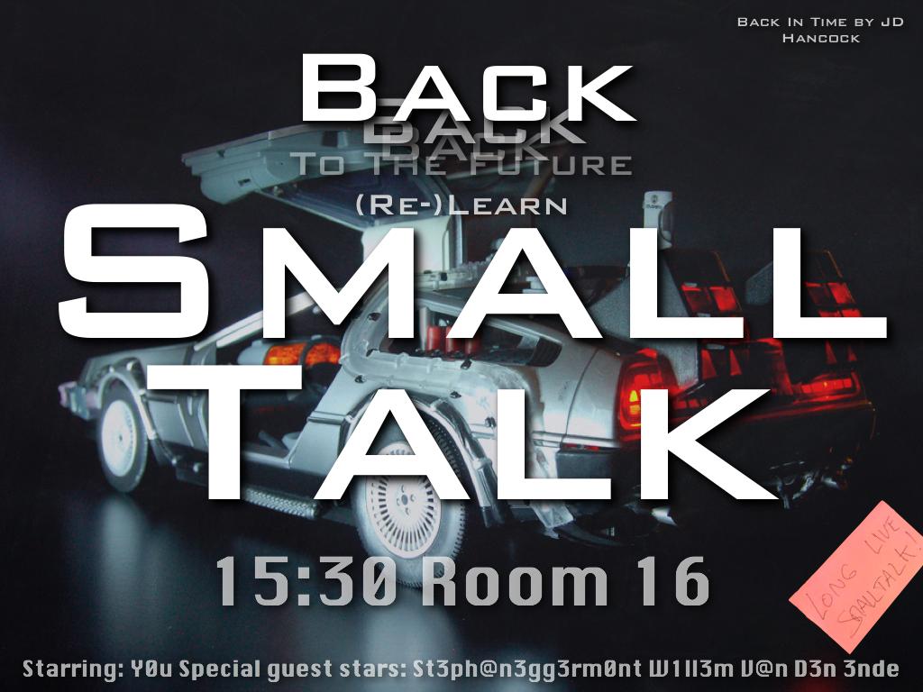 Back to the future, Re-Learn Smalltalk