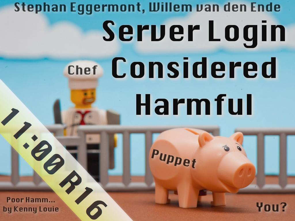 Server Login Considered Harmful